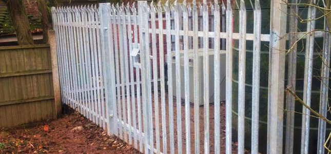 Metal Security Gates and Fencing