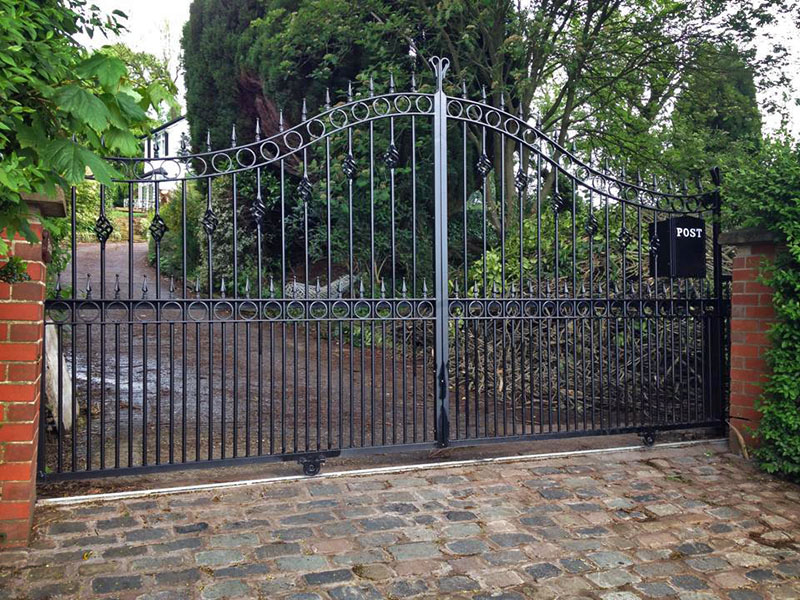 Metal Gate Simple Modern Gate Designs For Homes House Main